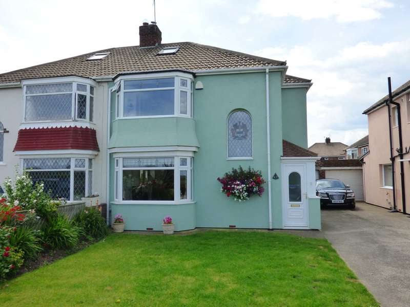 3 Bedrooms Semi Detached House for sale in Coast Road, Redcar