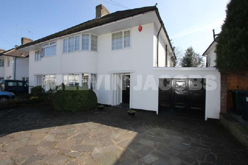 4 Bedrooms Semi Detached House for sale in Mill Ridge, Edgware, Greater London. HA8 7PE