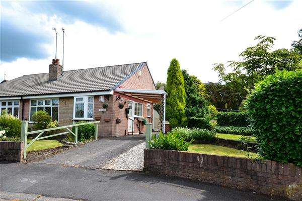 2 Bedrooms Semi Detached Bungalow for sale in Lyndon Avenue, Shevington