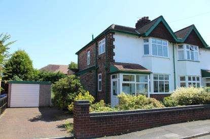 3 Bedrooms Semi Detached House for sale in Oakdale Avenue, Stockton Heath, Warrington, Cheshire