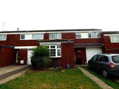 3 Bedrooms Terraced House for sale in Peartree Avenue, Kingsbury, Tamworth, Staffordshire