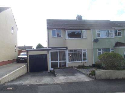 3 Bedrooms Semi Detached House for sale in Bodmin, Cornwall