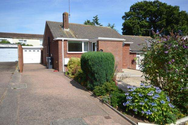 2 Bedrooms Semi Detached Bungalow for sale in Ashley Crescent, Sidmouth, Devon
