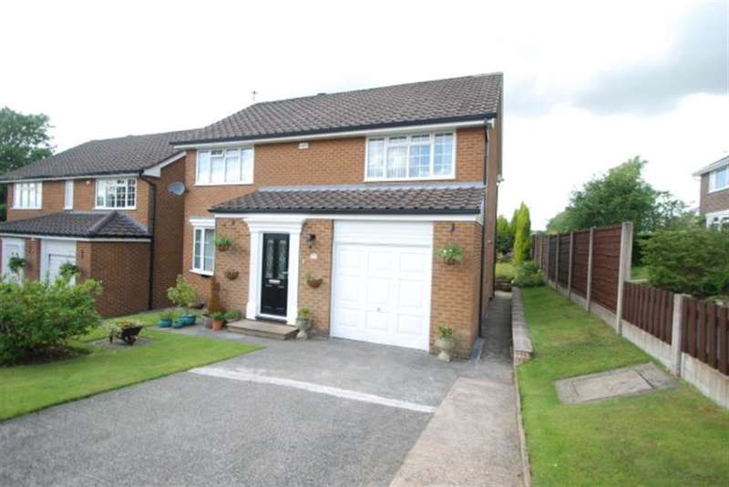 4 Bedrooms Detached House for sale in Thistle Close, Stalybridge, cheshire, SK15 2TU