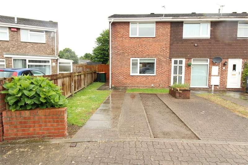 2 Bedrooms End Of Terrace House for sale in Armstrong Close, NEWPORT, NP19