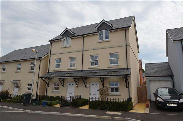 3 Bedrooms Town House for sale in Carhaix Way, Dawlish