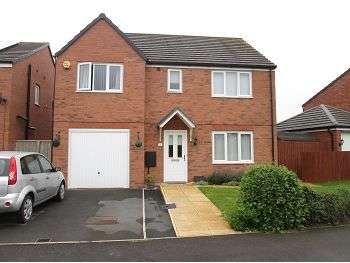 5 Bedrooms Detached House for sale in Jubilee Pastures, Middlewich, CW10 0AS