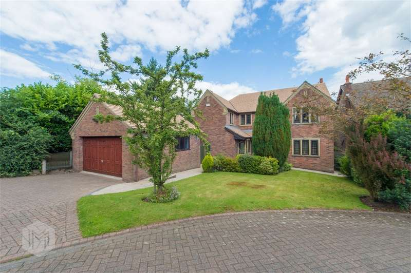 5 Bedrooms Detached House for sale in Greenmount Close, Greenmount, Bury, Lancashire