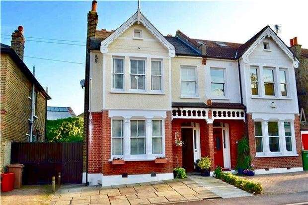 4 Bedrooms Semi Detached House for sale in Elgin Road, WALLINGTON, Surrey, SM6 8RE