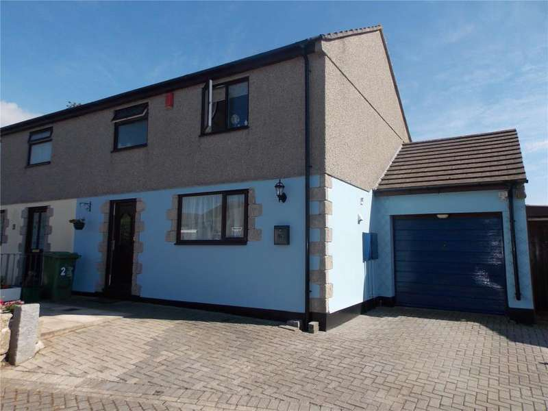 3 Bedrooms Semi Detached House for sale in Sampsons Court, Connor Downs, Hayle