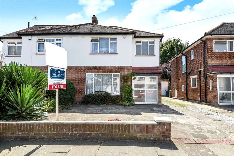 3 Bedrooms Semi Detached House for sale in Birkdale Avenue, Pinner, Middlesex, HA5