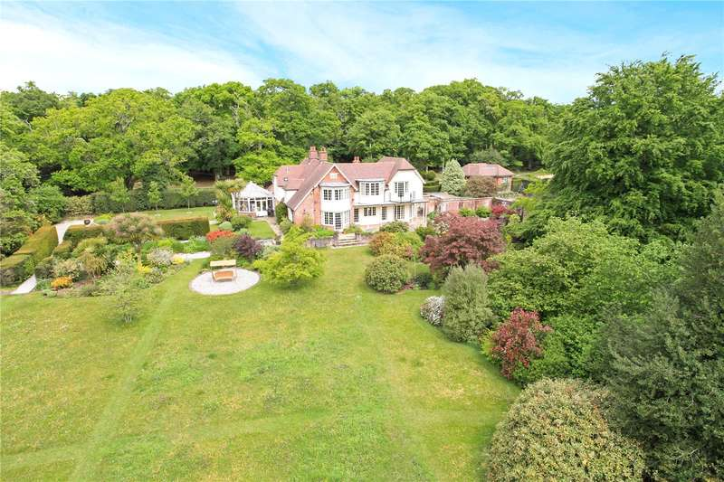 5 Bedrooms Detached House for sale in Shappen Bottom, Burley, Ringwood, Hampshire, BH24