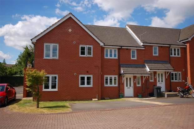 2 Bedrooms Town House for sale in Borle Brook Court, Highley, BRIDGNORTH, Shropshire