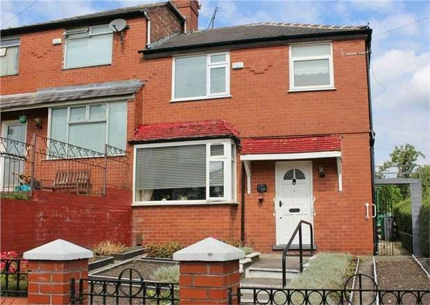 3 Bedrooms Semi Detached House for sale in Glover Avenue, Manchester