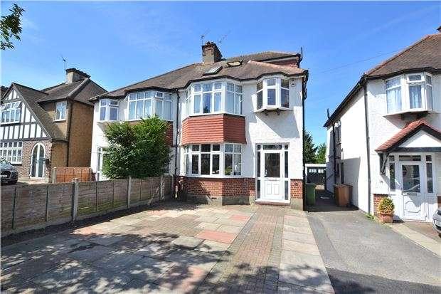 4 Bedrooms Semi Detached House for sale in Derek Avenue, WALLINGTON, Surrey, SM6 7LA