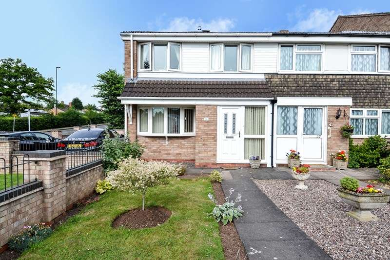 3 Bedrooms End Of Terrace House for sale in Rothley Walk, Kings Norton, Birmingham