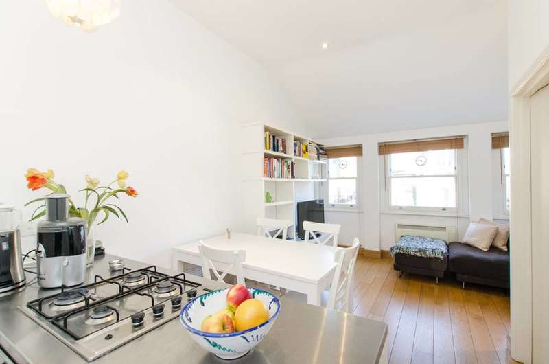 1 Bedroom Flat for sale in Gledhow Gardens, South Kensington, SW5