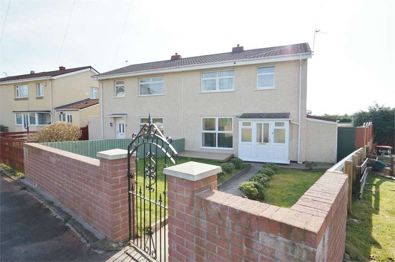 3 Bedrooms Semi Detached House for sale in Newton Way, Newport, NP20