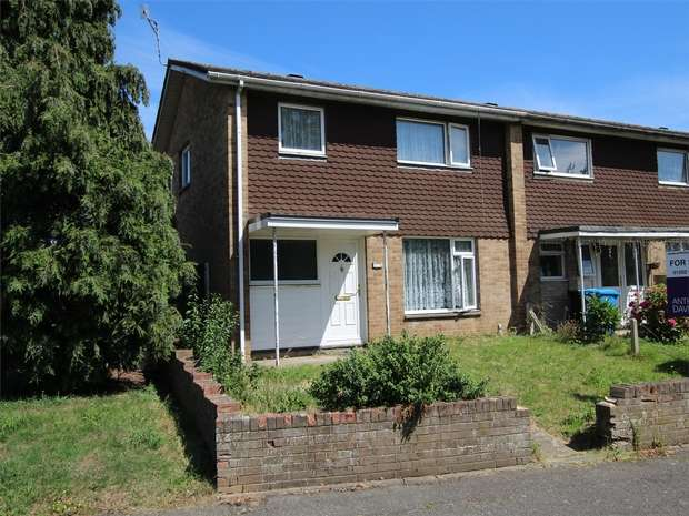 2 Bedrooms End Of Terrace House for sale in Christopher Crescent, Oakdale, POOLE, Dorset