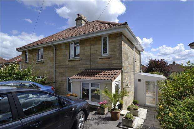 2 Bedrooms Semi Detached House for sale in Melrose Grove, BATH, Somerset, BA2 1HZ