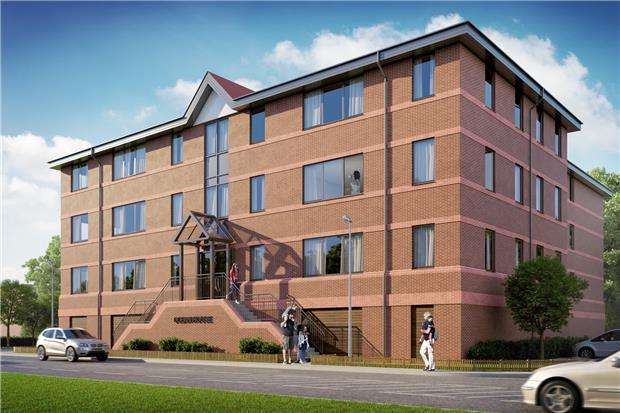 2 Bedrooms Flat for sale in 5 Ocean House, Hazelwick Avenue, Crawley, RH10 1NP