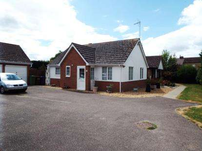 2 Bedrooms Bungalow for sale in Mayfly Close, Chatteris, Cambridgeshire