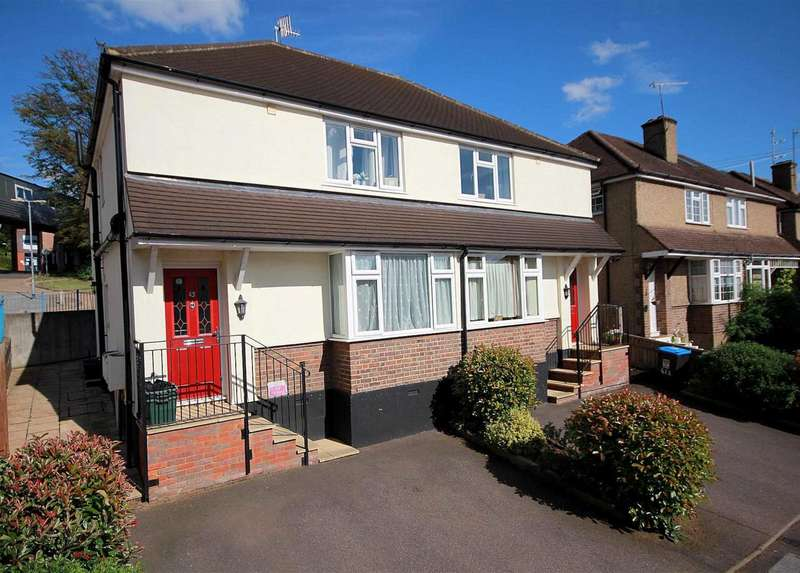 2 Bedrooms Maisonette Flat for sale in 2 BED GROUND FLOOR maisonette LONG LEASE and PARKING in Maynard Road, Hemel Hempstead