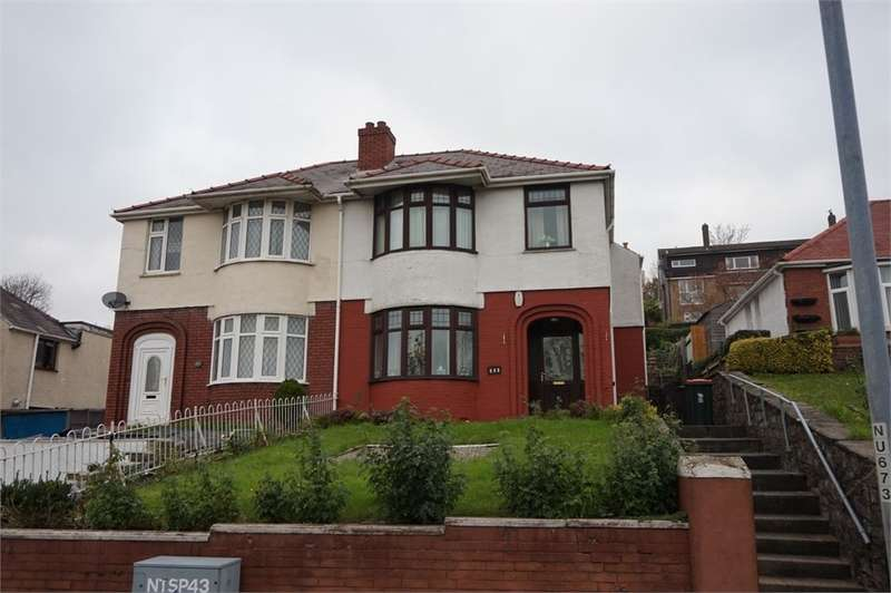 3 Bedrooms Semi Detached House for sale in Chepstow Road, NEWPORT, NP19