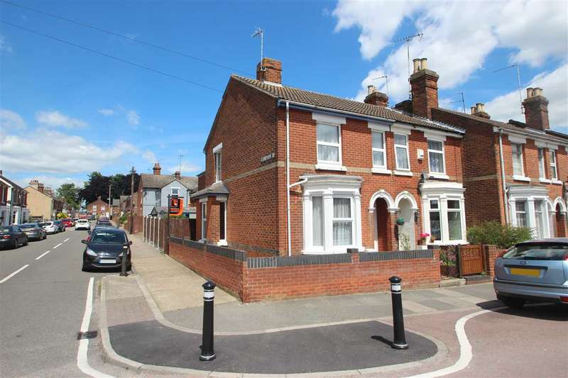 3 Bedrooms Semi Detached House for sale in Claudius Road, New Town, Colchester