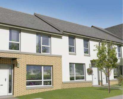 2 Bedrooms Terraced House for sale in Barons Vale Phase 2, MacDuff Street, London Road, Glasgow