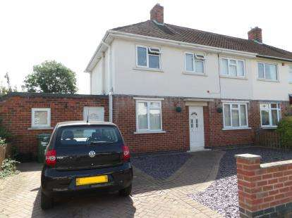 3 Bedrooms Semi Detached House for sale in Willow Road, Loughborough, Leicestershire