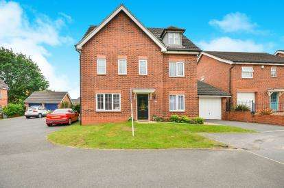 6 Bedrooms Detached House for sale in Dodsley Way, Clipstone Village, Mansfield, Nottinghamshire