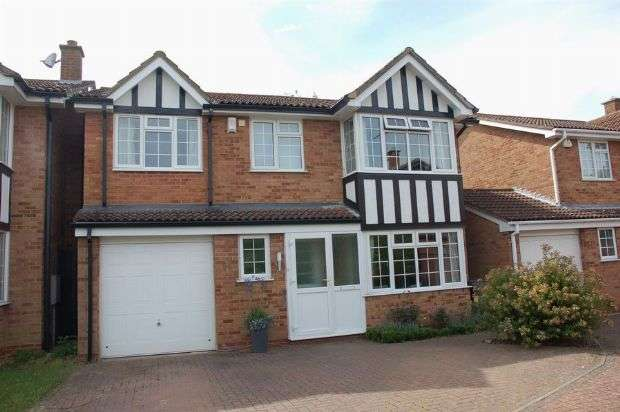 4 Bedrooms Detached House for sale in White Doe Drive, Moulton, Northampton NN3 7HD