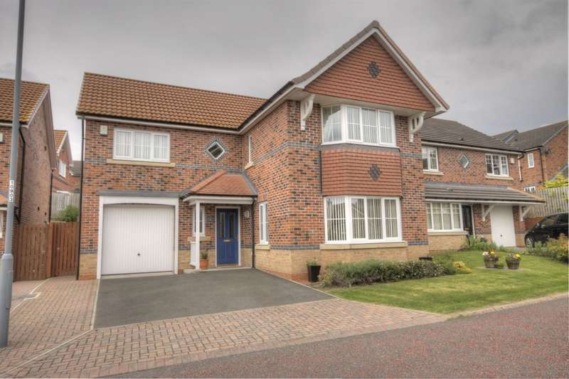 4 Bedrooms Detached House for sale in Deepdale Drive, Delves Lane, Consett, DH8