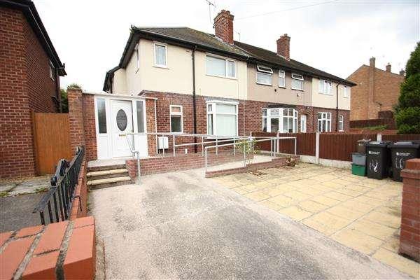 2 Bedrooms End Of Terrace House for sale in Vale Road, Ellesmere Port