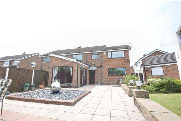 4 Bedrooms Semi Detached House for sale in Glamis Avenue, Heywood