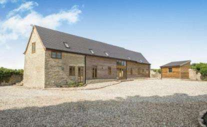 4 Bedrooms Barn Conversion Character Property for sale in Rock Lane, Westbury-On-Severn, Gloucestershire