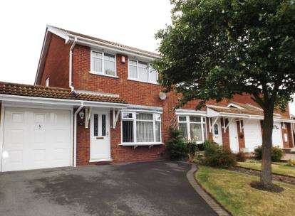 3 Bedrooms Semi Detached House for sale in Wooding Crescent, Tipton, West Midlands
