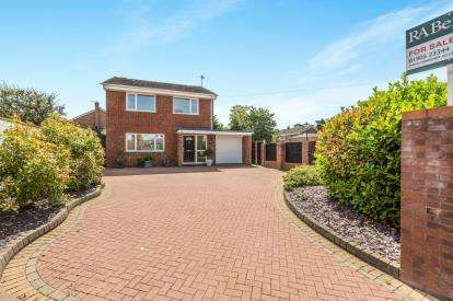 3 Bedrooms Detached House for sale in Bransford Road, St Johns, Worcester, Worcestershire