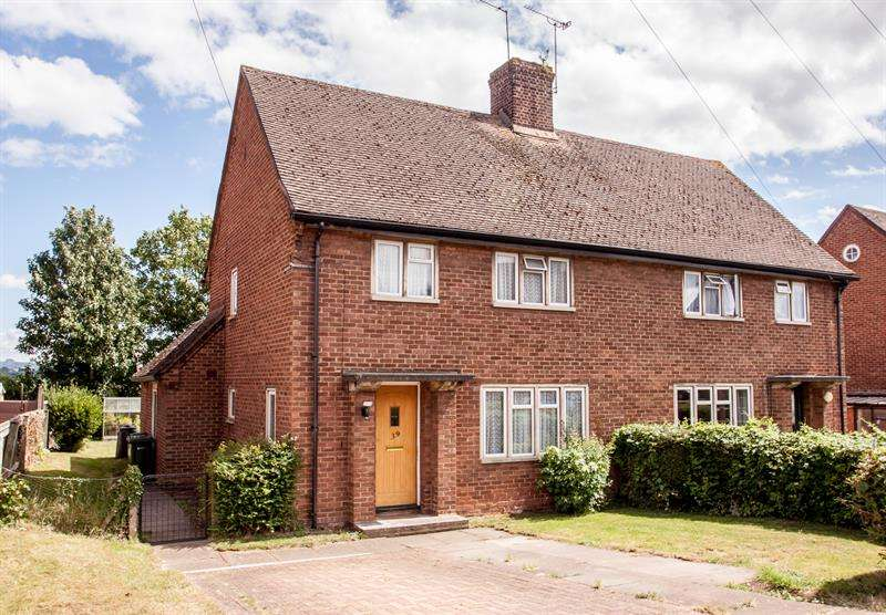 3 Bedrooms Semi Detached House for sale in Three Crosses Road, Ross-On-Wye