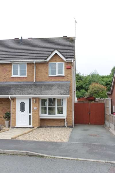 3 Bedrooms Semi Detached House for sale in Cherrydale road, Broughton, Cheshire, CH4