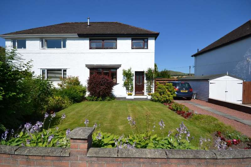 3 Bedrooms Semi Detached House for sale in 3, Riverside Drive Denholm, TD9 8NE