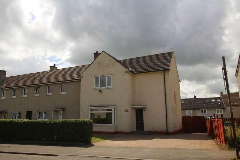 3 Bedrooms Semi Detached House for sale in Meiklerig Crescent, Glasgow, G53