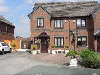 3 Bedrooms Semi Detached House for sale in Topcliffe Grove, Croxteth Park, Liverpool