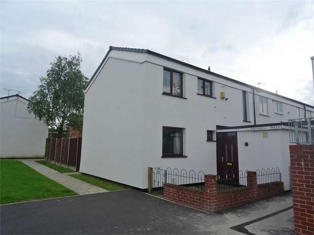 3 Bedrooms End Of Terrace House for sale in Bexhill Walk, Chadderton, Oldham, Lancashire