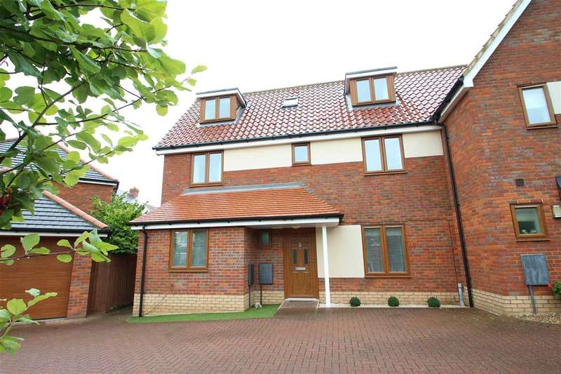 4 Bedrooms Semi Detached House for sale in Broadlands Way, Rushmere St. Andrew, Ipswich