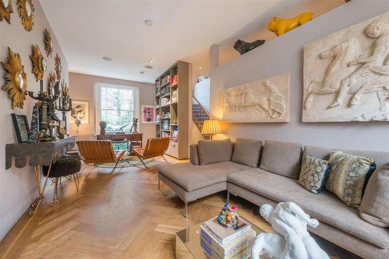 2 Bedrooms Semi Detached House for sale in Lanark Road, Little Venice, London, W9
