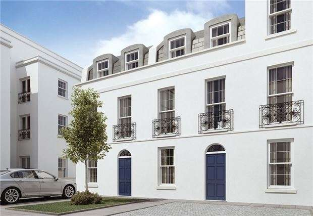 3 Bedrooms Town House for sale in The Leckhampton, Regency Place, CHELTENHAM, Gloucestershire, GL52 2LZ