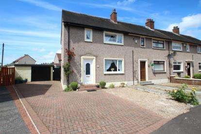 3 Bedrooms End Of Terrace House for sale in Paterson Avenue, Irvine, North Ayrshire