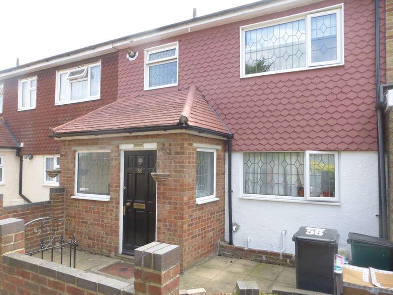 3 Bedrooms Terraced House for sale in Applegarth, New Addington, Croydon, CR0 9DD